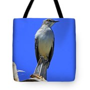 Palm Mocking Bird Tote Bag by Deborah Benoit