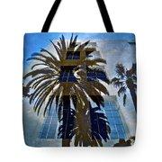 Palm Mural Tote Bag