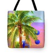 Palm Of Miami Tote Bag