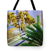 Palm Of The Dock Tote Bag