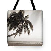 Palm Over Beach Tote Bag
