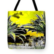 Palm Paradise   Tote Bag