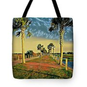 Palm Parkway Tote Bag