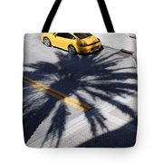 Palm Porsche Tote Bag
