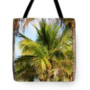 Palm Portrait Tote Bag