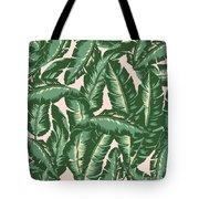 Palm Print Tote Bag