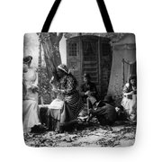 Palm Reading, C1902 Tote Bag