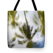 Palm Reflections Tote Bag