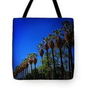 Palm Row Tote Bag