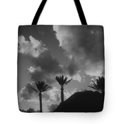 Palm Silhouette Tote Bag