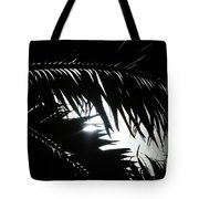 Palm Silhouettes Kaanapali Tote Bag