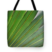 Palm Texture Tote Bag
