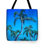 Palm Tops Tote Bag
