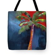 Palm Tree- Art By Linda Woods Tote Bag