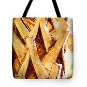 Palm Tree Bark Tote Bag