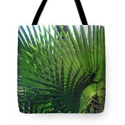 Palm Tree, Big Leafs Tote Bag