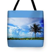 Palm Tree Dream Delray Beach Florida Tote Bag