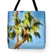 Palm Tree Needs A Chiropractor Painterly I Tote Bag