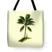 Palm Tree Number 1 Tote Bag