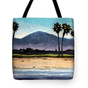 Palm Tree Oasis Tote Bag