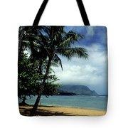 Palm Tree Shadows Tote Bag