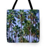 Palm Trees. California, Sunny Beauty Tote Bag