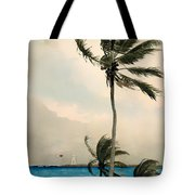 Palm Trees - Nassau Tote Bag