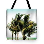 Palm Trees Ocean Breeze Tote Bag
