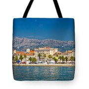 Palm Waterfront Of Split City Tote Bag