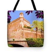 Palma De Majorca Old City Walls Tote Bag