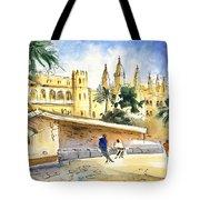 Palma De Mallorca Cathedral Tote Bag
