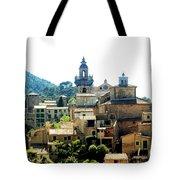 Palmas De Mallorca Tote Bag