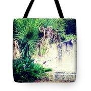 Palmetto And Head Stone Tote Bag
