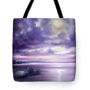 Palmetto Moonscape Tote Bag