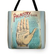 Palmistry Guide Tote Bag