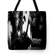 Palms And Arches Tote Bag