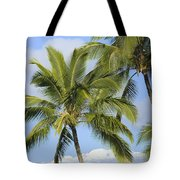 Palms And Mountaintops Tote Bag