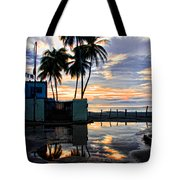 Palms And Sunshine Tote Bag