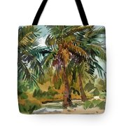 Palms In Key West Tote Bag