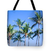 Palms In Living Harmony Tote Bag