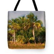 Palms - Naples Florida Tote Bag
