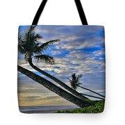 Palms Of Kaanapali Tote Bag