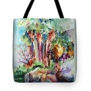 Palms...no Springs Tote Bag