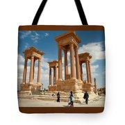 Palmyra-tetrapylon Tote Bag