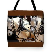 Palomino Horses Tote Bag
