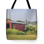 Palos Covered Bridge Tote Bag