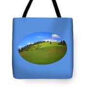 Palouse - Landscape - Transparent Tote Bag