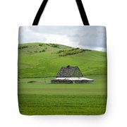 Palouse Old Barn Tote Bag