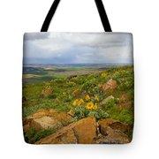 Palouse Sunflowers Tote Bag