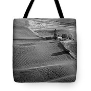 Palouse - Washington - Farms - 6 - Bw Tote Bag